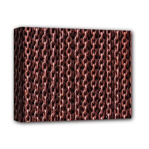 Chain Rusty Links Iron Metal Rust Deluxe Canvas 14  X 11