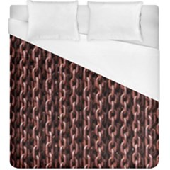 Chain Rusty Links Iron Metal Rust Duvet Cover (king Size) by BangZart
