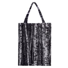 Birch Forest Trees Wood Natural Classic Tote Bag