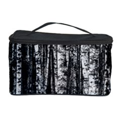 Birch Forest Trees Wood Natural Cosmetic Storage Case by BangZart