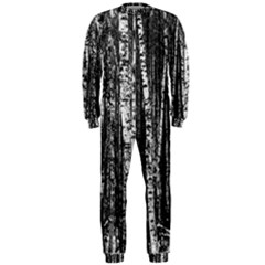 Birch Forest Trees Wood Natural Onepiece Jumpsuit (men)  by BangZart