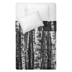Birch Forest Trees Wood Natural Duvet Cover Double Side (single Size)