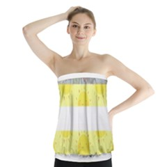 Cute Flag Strapless Top by TransPrints