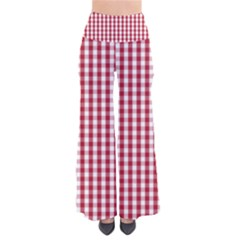 Usa Flag Red Blood Large Gingham Check Pants by PodArtist