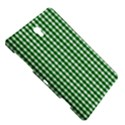 Christmas Green Velvet Large Gingham Check Plaid Pattern Samsung Galaxy Tab S (8.4 ) Hardshell Case  View5