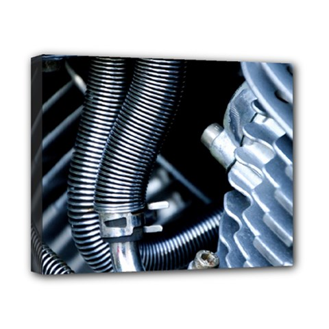Motorcycle Details Canvas 10  X 8