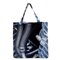 Motorcycle Details Grocery Tote Bag by BangZart