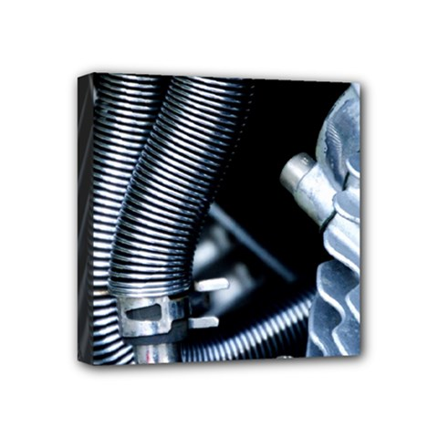 Motorcycle Details Mini Canvas 4  X 4  by BangZart