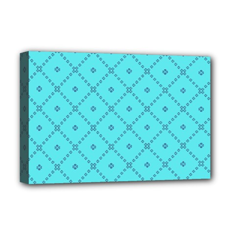 Pattern Background Texture Deluxe Canvas 18  X 12