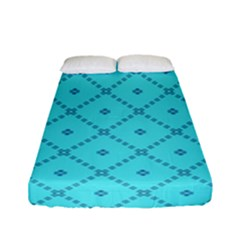 Pattern Background Texture Fitted Sheet (full/ Double Size)