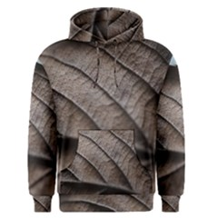 Leaf Veins Nerves Macro Closeup Men s Pullover Hoodie