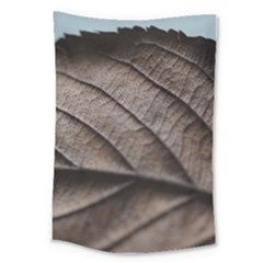 Leaf Veins Nerves Macro Closeup Large Tapestry by BangZart