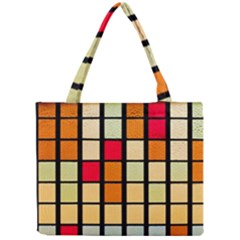 Mozaico Colors Glass Church Color Mini Tote Bag by BangZart