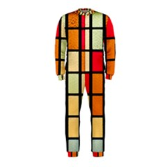 Mozaico Colors Glass Church Color Onepiece Jumpsuit (kids) by BangZart