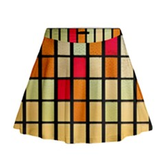 Mozaico Colors Glass Church Color Mini Flare Skirt