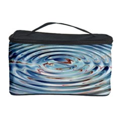 Wave Concentric Waves Circles Water Cosmetic Storage Case by BangZart