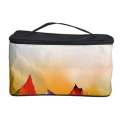 Autumn Leaves Colorful Fall Foliage Cosmetic Storage Case