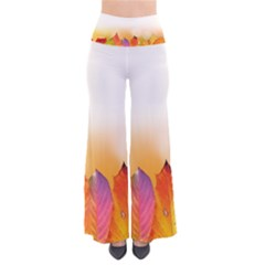 Autumn Leaves Colorful Fall Foliage Pants by BangZart