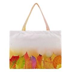 Autumn Leaves Colorful Fall Foliage Medium Tote Bag