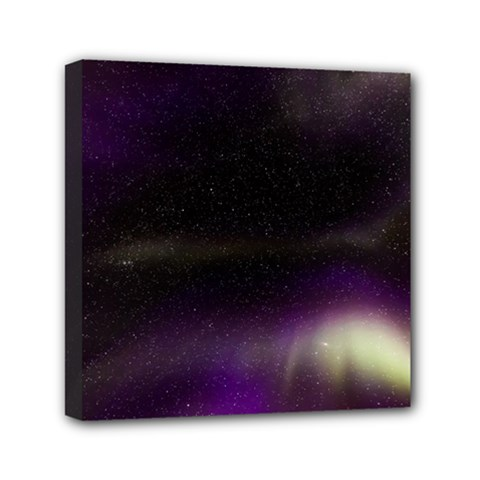The Northern Lights Nature Mini Canvas 6  X 6  by BangZart
