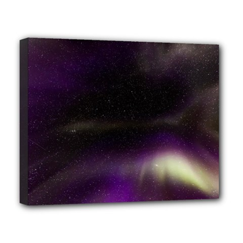 The Northern Lights Nature Deluxe Canvas 20  X 16
