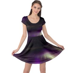 The Northern Lights Nature Cap Sleeve Dresses