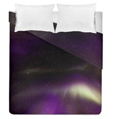 The Northern Lights Nature Duvet Cover Double Side (queen Size)