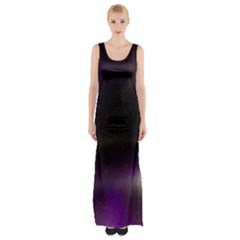 The Northern Lights Nature Maxi Thigh Split Dress