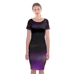 The Northern Lights Nature Classic Short Sleeve Midi Dress
