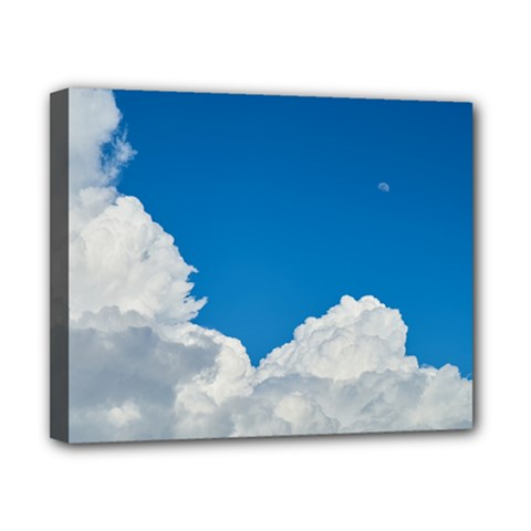 Sky Clouds Blue White Weather Air Canvas 10  X 8