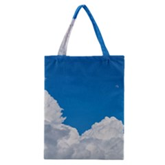 Sky Clouds Blue White Weather Air Classic Tote Bag