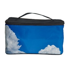 Sky Clouds Blue White Weather Air Cosmetic Storage Case by BangZart