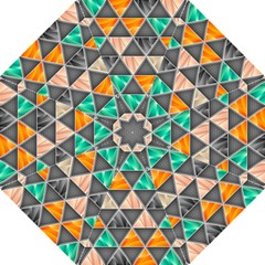Abstract Geometric Triangle Shape Straight Umbrellas by BangZart