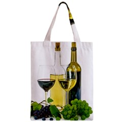 White Wine Red Wine The Bottle Classic Tote Bag by BangZart