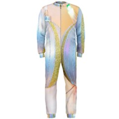 Sphere Tree White Gold Silver Onepiece Jumpsuit (men)