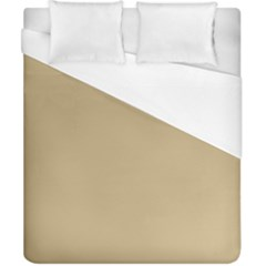 Solid Christmas Gold Duvet Cover (california King Size)