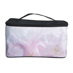Pink Blossom Bloom Spring Romantic Cosmetic Storage Case by BangZart