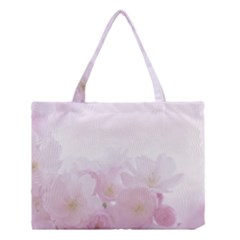 Pink Blossom Bloom Spring Romantic Medium Tote Bag