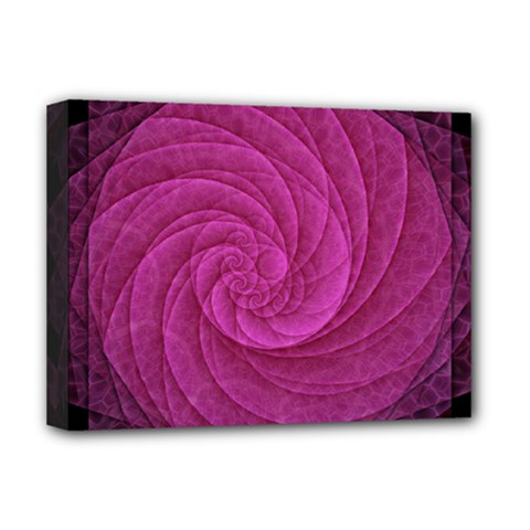 Purple Background Scrapbooking Abstract Deluxe Canvas 16  X 12