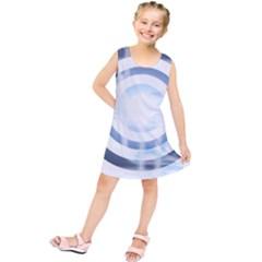 Center Centered Gears Visor Target Kids  Tunic Dress