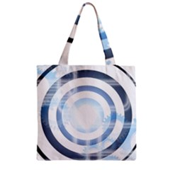 Center Centered Gears Visor Target Zipper Grocery Tote Bag by BangZart