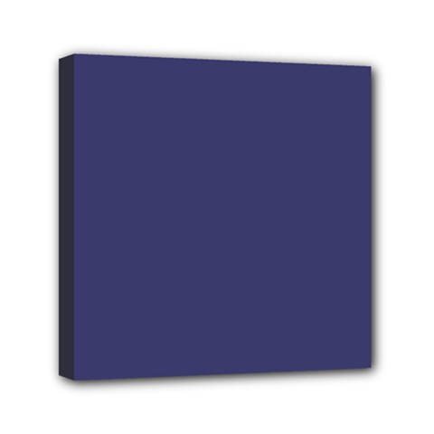 Usa Flag Blue Royal Blue Deep Blue Mini Canvas 6  X 6  by PodArtist