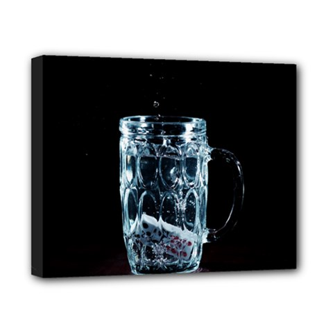 Glass Water Liquid Background Canvas 10  X 8