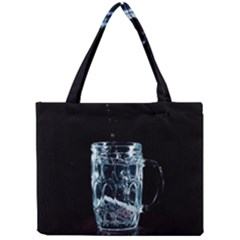 Glass Water Liquid Background Mini Tote Bag by BangZart