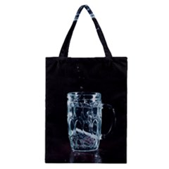 Glass Water Liquid Background Classic Tote Bag by BangZart