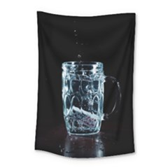 Glass Water Liquid Background Small Tapestry by BangZart
