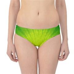Radial Green Crystals Crystallize Hipster Bikini Bottoms