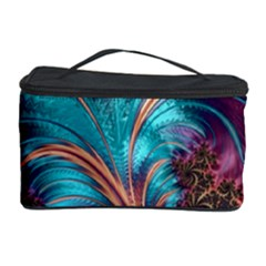 Feather Fractal Artistic Design Cosmetic Storage Case by BangZart