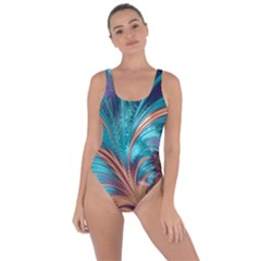 Feather Fractal Artistic Design Bring Sexy Back Swimsuit