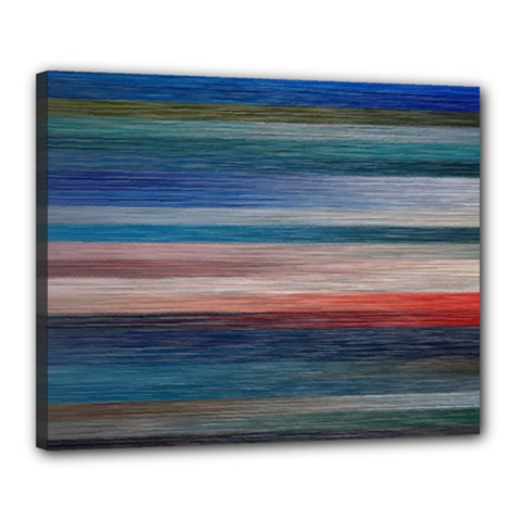 Background Horizontal Lines Canvas 20  X 16  by BangZart